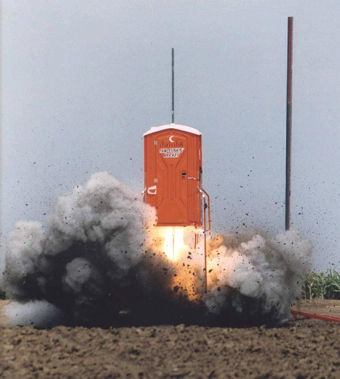 Porta Potty Rocket
