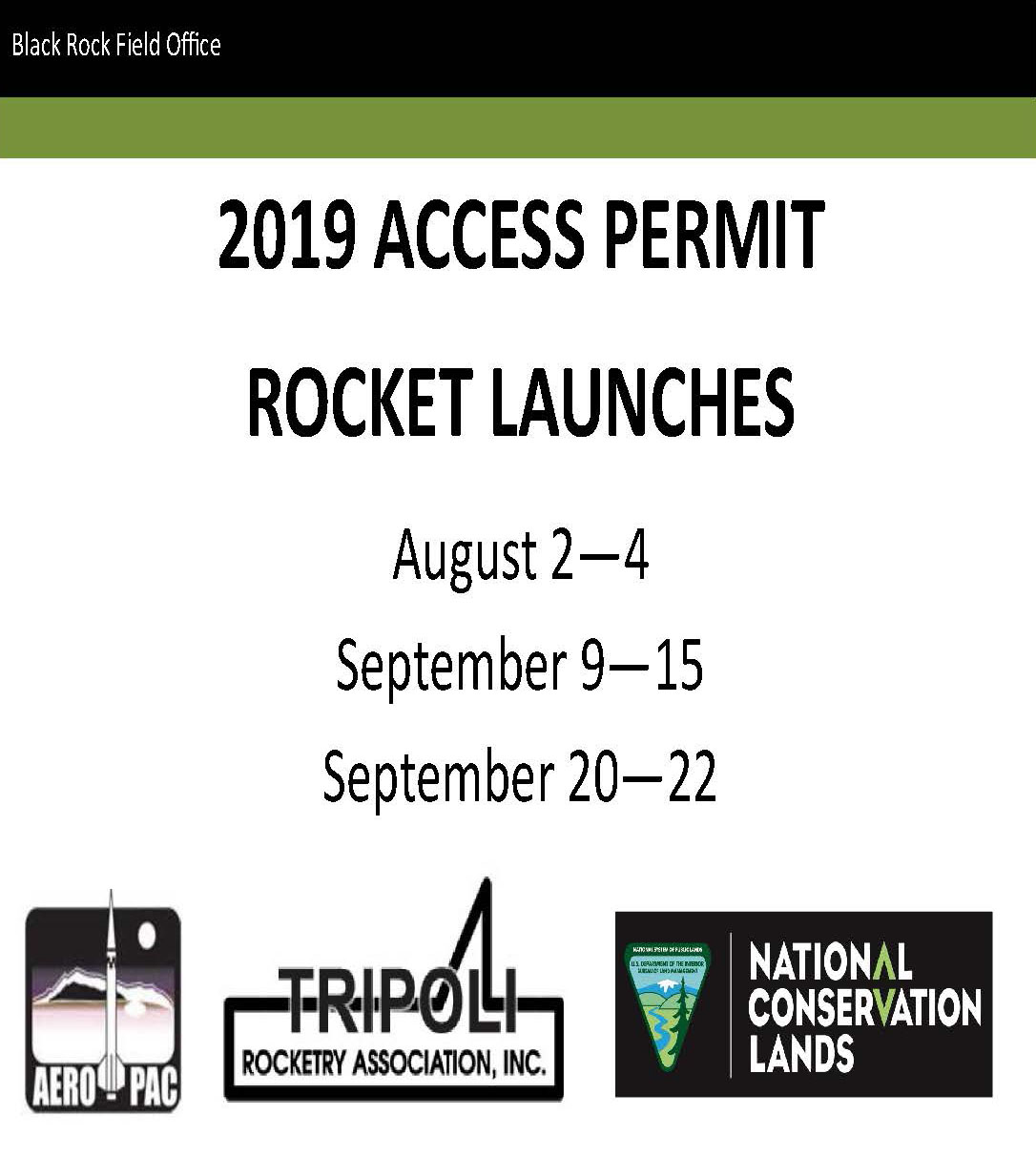 2019 RocketLaunchDriving Pass